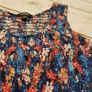 Elementz Dresses - Elementz Petite Floral Sleeveless Maxi Dress